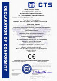 CE certificate for LED phototherapy lamp