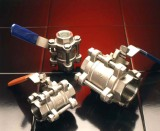 Cast stainless steel valves