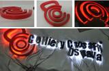 LED letter sign job for Czech