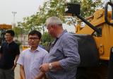 Australia Client visit XCMG wheel loader