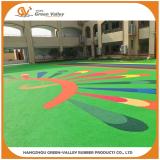 Kindergarten rubber flooring made with EPDM granules