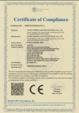 CE Certification LVD for Energy Saving Lamp