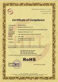 ROHS Certificate for USB HUB