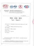 Type test certificate for Fuse cutout 36kV