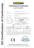 CE Certificate of Infaltable boucer