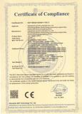CE Certificate of LED Panel Light