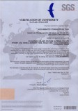 Solid surface and Quartz surface CE certificate
