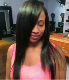 Real virgin hair straight (client share)