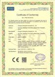 CE certificate for Heater