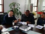 Hubei Xindongri Customer Visiting