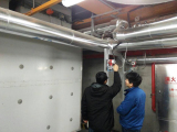 DMP305X pressure transmitter for refrigeration system of metro station