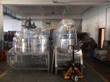 Fixed Type Vacuum Emulsifying Mixer