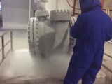 Liquid nitrogen treatment