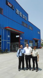 Southeast Asia Customer visiting for Setting up their Refrigerator Factory Dated July 23, 2016