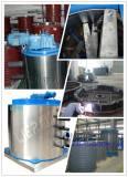 Flake ice evaporator production