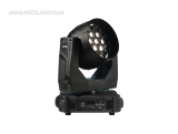 19X15W RGBW 4IN1 LED ZOOM WASH MOVING HEAD LIGHT with RING EFFECT
