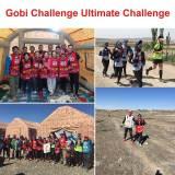 Gobi Challenge Ultimate Challenge Runners.