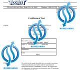Safety Vest Certificate