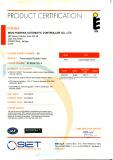 EN215 certificate of TF-6 +DN15-B thermostatic radiator valve