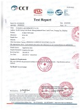 TEST REPORT FOR TUBULAR STAY ROD