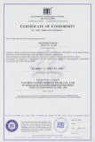 CE Certificate for S-500-... Switching Power Supply