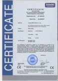ce certificate for patch cable
