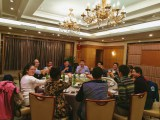 Tavol arrange Dinner with our Kenya Agent in Shanghai
