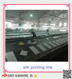 the silk screen printing