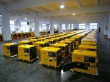 7kva Silent Type Portable Diesel Generator