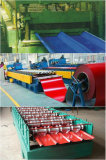 Corrugated steel sheet produce line