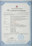 CE Certificate of Barrier Gate