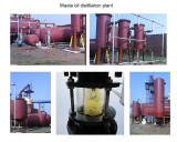 10Ton oil distillaiton plant running in Malysia