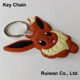 Custom 3D rubber keychain