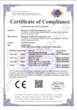 PDA CE Certificate
