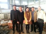 Customers from Philippines visiting us