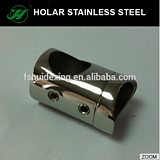 304 stainless steel handrail connector for tube