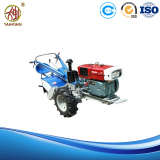 walking tractor with power tiller