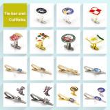 Tie bar and Cufflinks