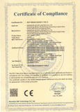 CE Certificate of LED Panel