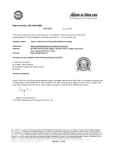 Xiexing Certificate