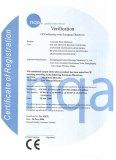 CE Verification Certificate