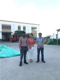 Indian costomer visit our factory