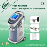 ND:YAG laser tattoo and eyebrow removal vertical machine Y6B