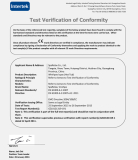 CE (EMC certificate verification)- (1) (2016 update)