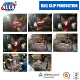 Rail clip production line
