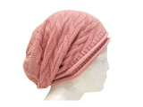Pink Leisure Beanie Has for Women