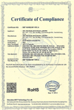 E cigarette ROHS certificated