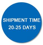 Shipment Time 20-25 Days