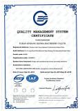 Xianda Stone Machinery ISO9001 Certificate