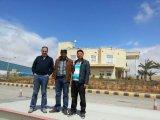 Engineer install 3x20m80ton truck scale in Jordan
